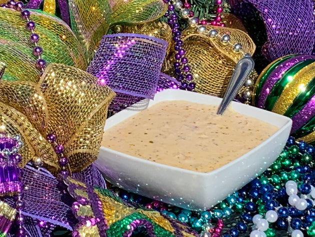Gandy  Seafood Cream of Crab Soup -    NEW ITEM  #3613 - cajunspecialtymeats