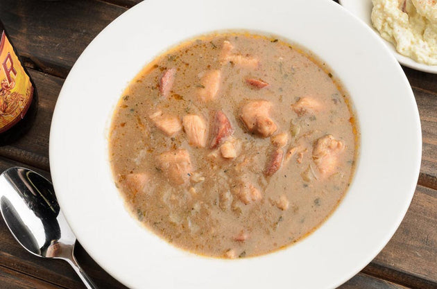 Family Sized- Chicken & Andouille Gumbo 5 lb. Boil N Bag  #890 - cajunspecialtymeats