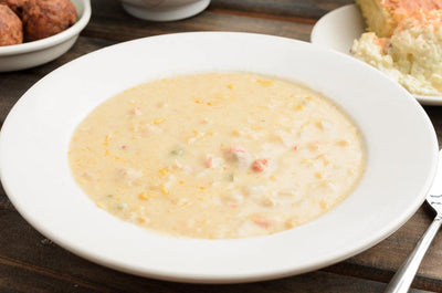 Family Sized- Crawfish & Corn Bisque 5 LBS  Boil-n-Bag - CajunSpecialtyMeats.com
