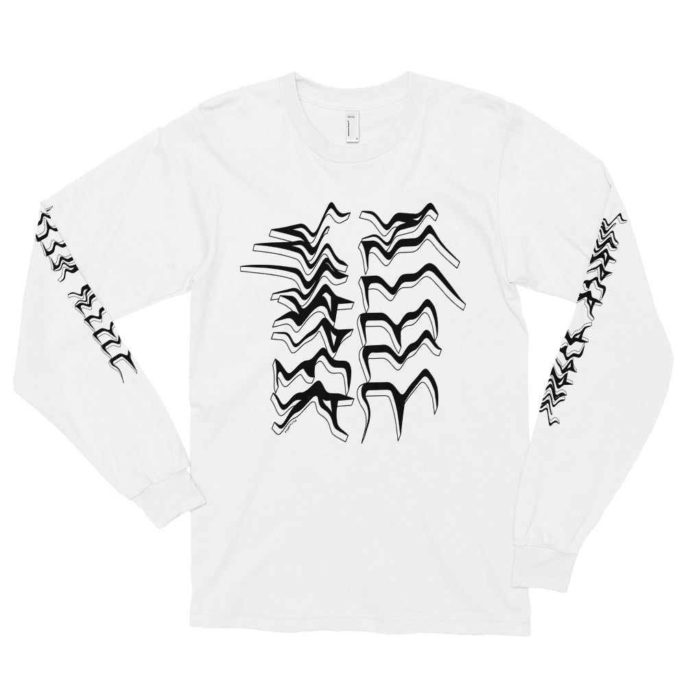 Allele Warper Long Sleeved Shirt (White)