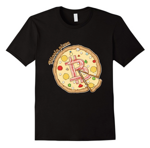 """Bitcoin Pizza"" T-Shirt 