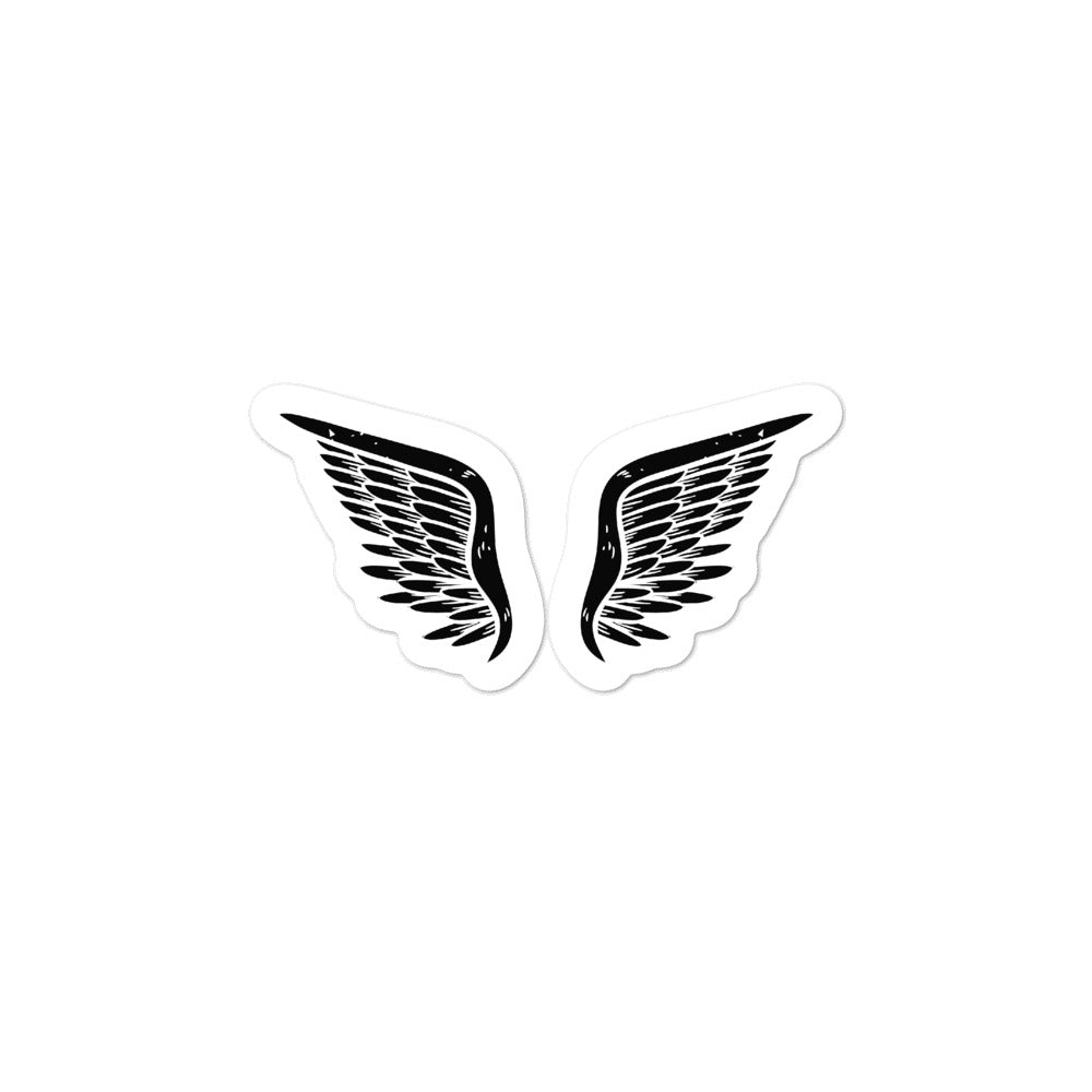 dark angel sticker.