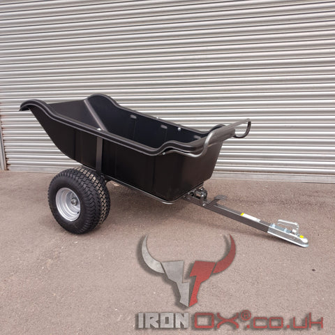 Iron Ox® Haul 12 - Tipping Trailer 1200lb *FREE DELIVERY*