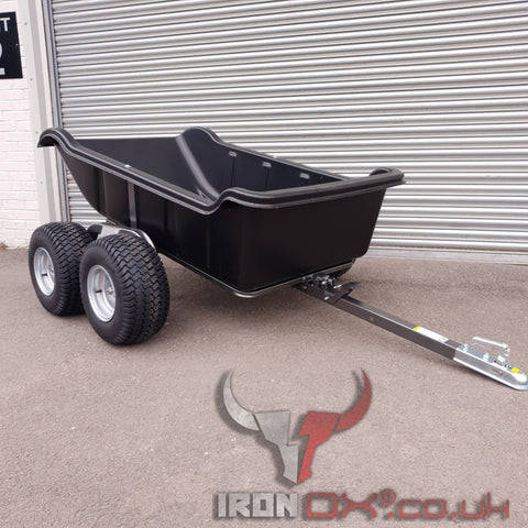 Iron Ox® Haul 15 - Tipping Trailer 1500lb *FREE DELIVERY*