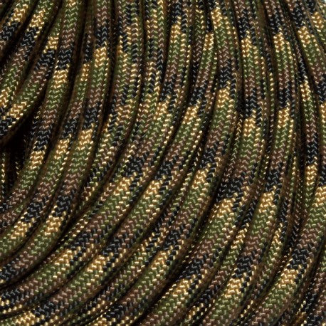 Paracord 550 4mm 7 strands - Army Camo 100ft
