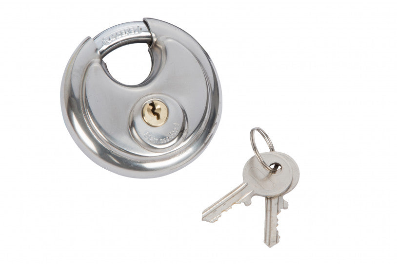 70mm Discus Lock Stainless Steel