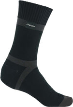 Waterproof Socks - Black-Grey Stripe