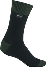 Waterproof Socks - Black-Deep Green