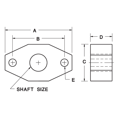 2-Bolt Flange Blocks
