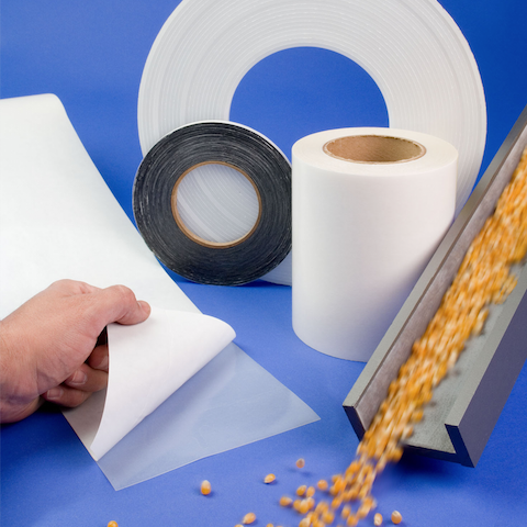 ".01"" Thick Wear Tape With PSA ( Pressure Sensitive Adhesive)"