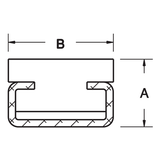 Insert for Belt Support or Guide Rail - Mounted