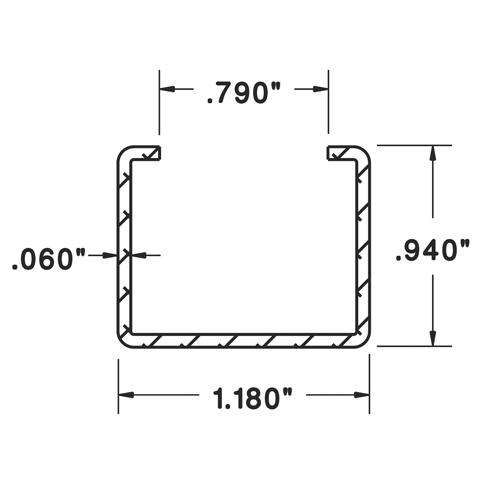 Mounting Channel - C10