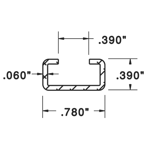 Mounting Channel - C3