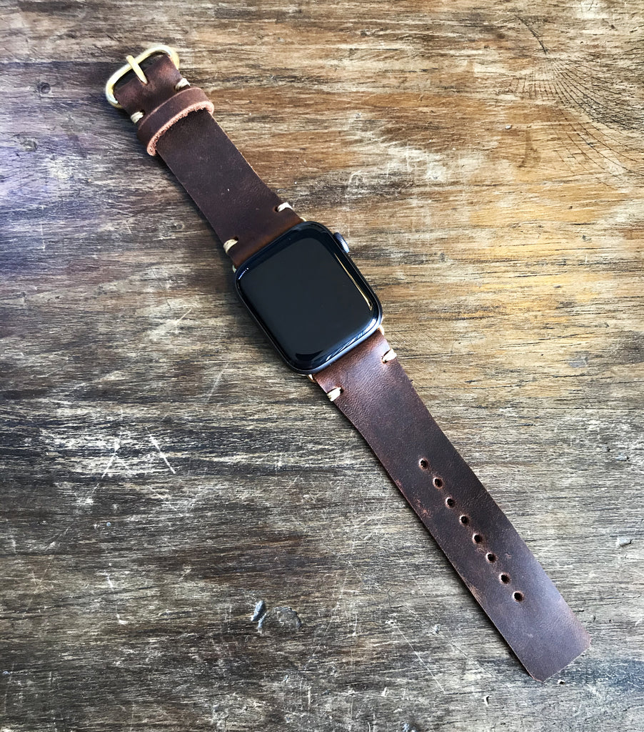 The watch strap - brown