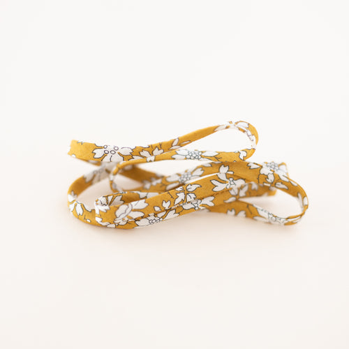 Mustard Floral Laces