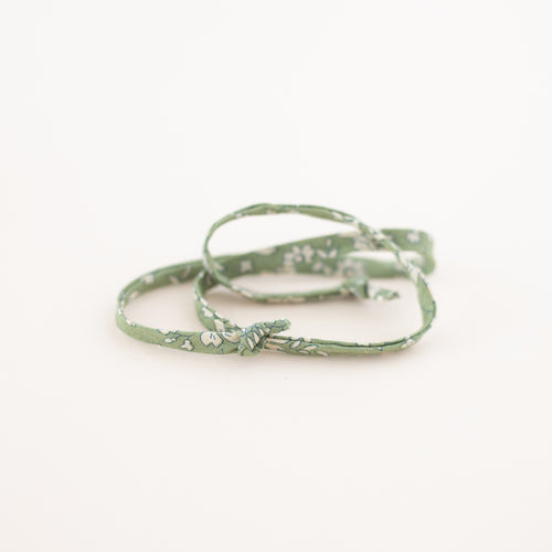 Sage Green Floral Laces