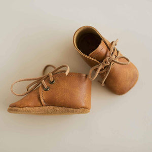 leather baby boots