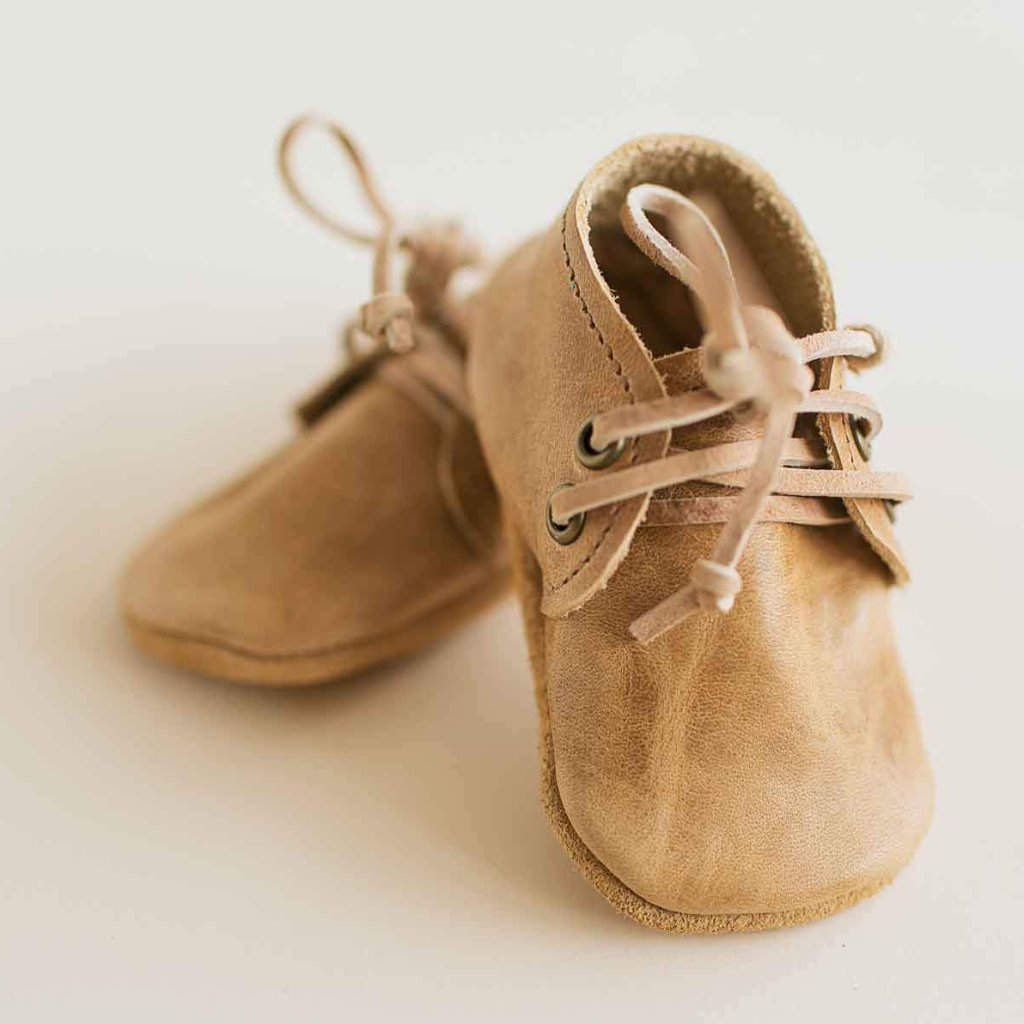 Camel Oxfords