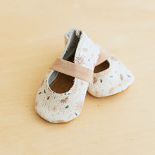 floral leather baby mary janes
