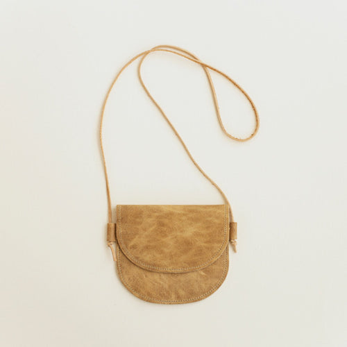 Leather Bag in Camel