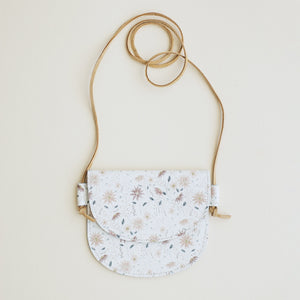 Leather Bag in Bloom
