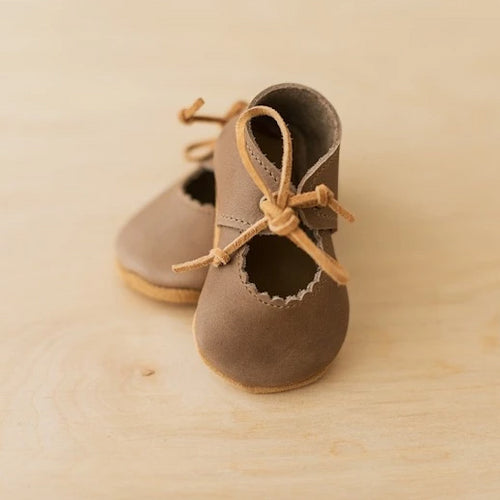 leather baby mary janes
