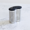 This stainless steel double herb pod holds up to 1/2 cup of dry botanicals; it's the same size as the Power Pod accessory