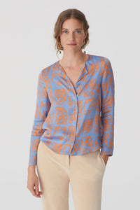 "Blouse lilas ""signes du zodiaque"" Nice things"
