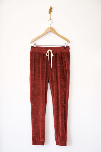 Pantalon velours bordeaux Rails