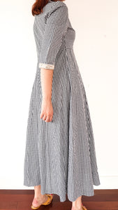 Robe maxi à carreaux, Mismash
