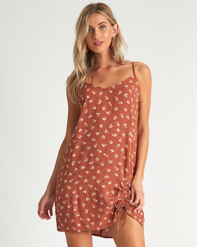 Robe courte terra cotta - Billabong