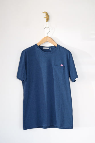 T-shirt bleu Minimum