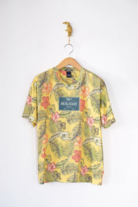 T-shirt jaune Scotch & Soda