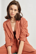 Charger l'image dans la galerie, Veste cardigan orange 24 Colours