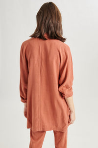 Veste cardigan orange 24 Colours