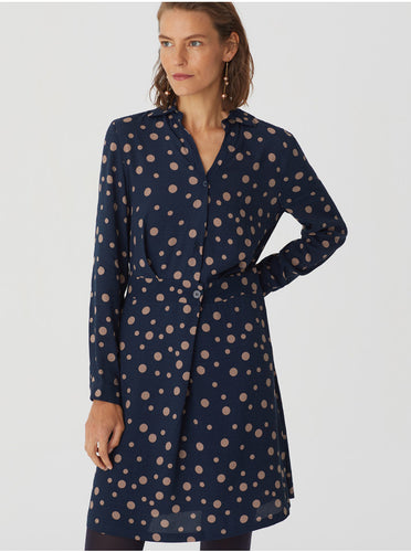 Robe Bleue à pois Nice Things