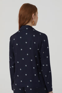 "Blazer tencel ""Motherpearl print"" Nice things"