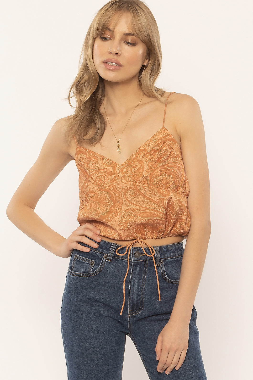 Camisole orange Amuse