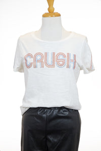 "T-shirt blanc ""crush"" - Garcia"