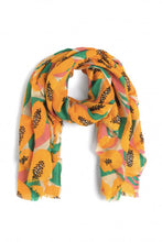 "Charger l'image dans la galerie, Foulard ""Big papaya"" de Nice things"