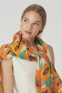 "Foulard ""Big papaya"" de Nice things"