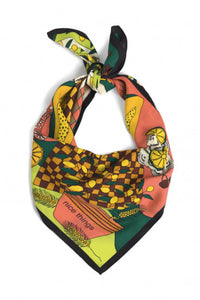 "Foulard ""Vases & papayas"" de Nice things"