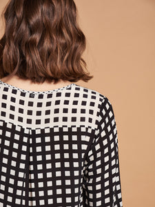 Blouse à carreaux Nile
