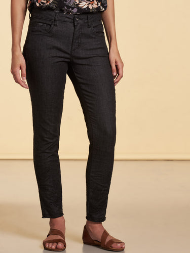 Pantalon dark denim slim Nile