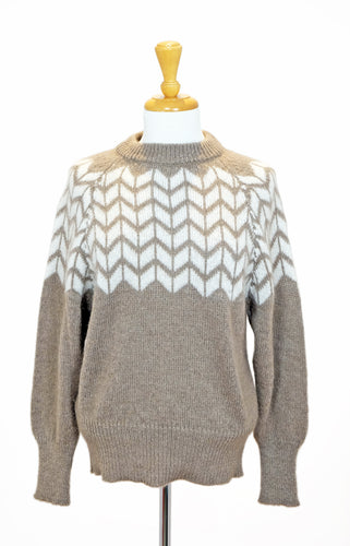 Pull en mohair taupe - Sparkz
