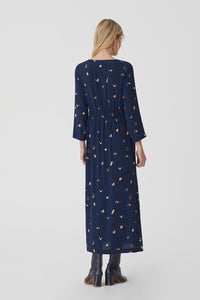 "Robe longue bleue ""Astral print"" Nice Things"