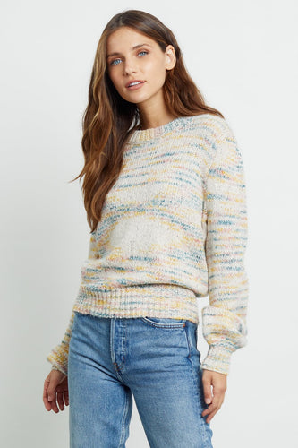 Pull multicolore - Rails
