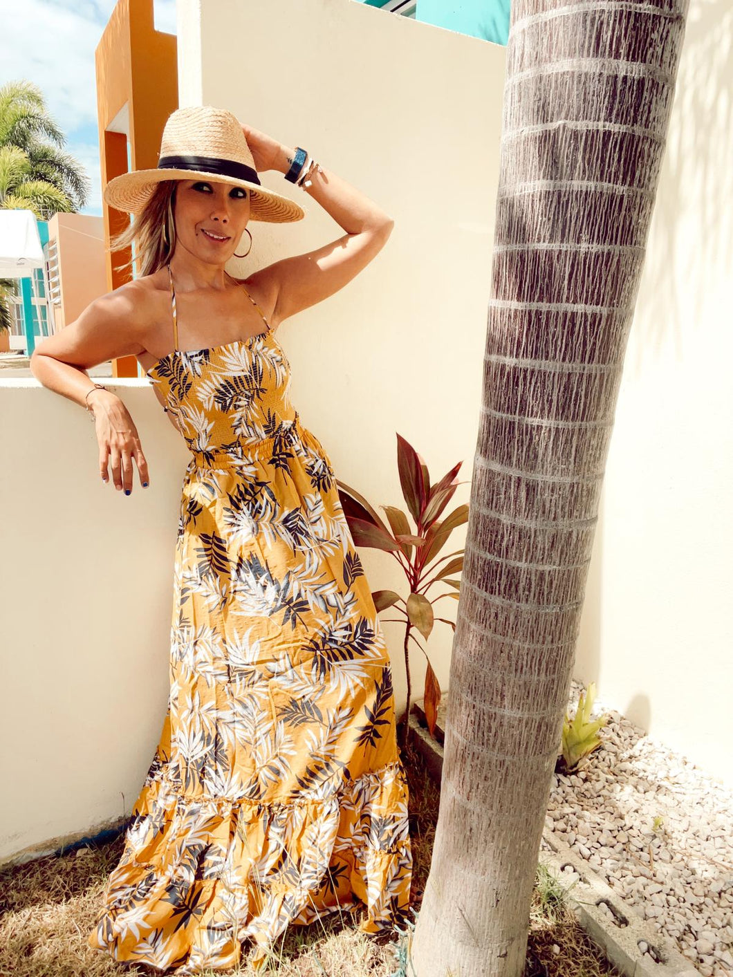 Resort Lifestyle Maxi Dress