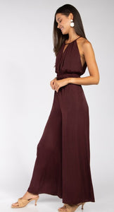 Like Merlot Jumpsuit