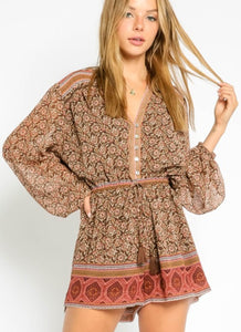 Brown Sugar Romper
